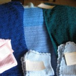 Fran's shawls and baby blankets 001